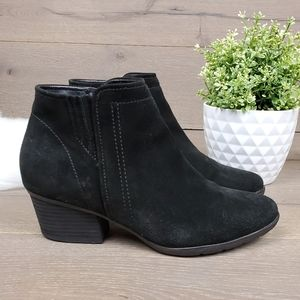 Blondo Suede Black Waterproof Booties